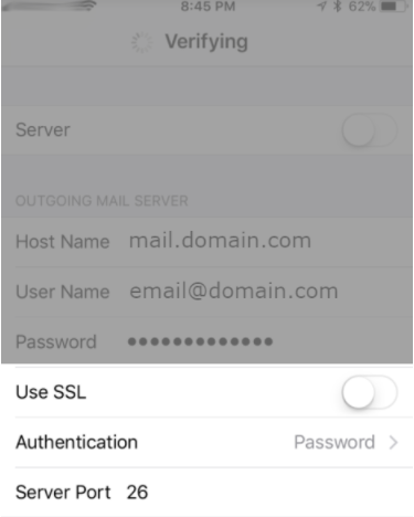 IOS with SSL Off