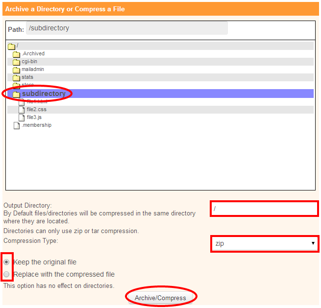 IPOWER Knowledgebase Articles- file-management-how-to-zip