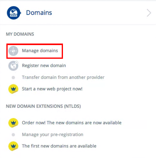 How to Change Name Servers with 1&1 | HostGator Support